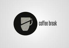 Logotipo para cafetería Coffee Break, by Blanca Marcet, from MediaGrafics