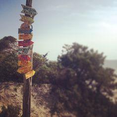 """All #directions (Alghero #beach)"""
