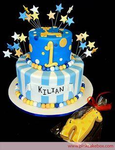First Birthday Cake Ideas For Boys