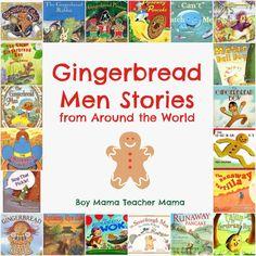 Boy Mama Teacher Mama | Gingerbread Men Tales from Around the World