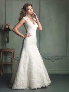 Allure Bridals Spring 2014 | Style 9113