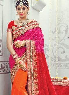 Whimsical Georgette Orange Traditional Designer Sarees #indian #saree #trendy #red #bridal#bollewood #party wear #traditional#online #mangosurat#style #boutiques #shopping #fashion #modal #social #branding #sales #marketing #business #discount #deal #success #ethnic #creation #embroidery #classic #cloth #clothing #bridal wear#jardoshi #work #chiffon #acteress #navel #desi #new #woman fashion #designersuit #bridal