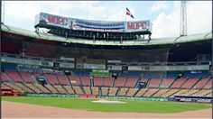 Estadio Quisqueya listo para que este martes se cante ¡Play Ball!