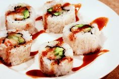 Guide to Making Shrimp Tempura Rolls.  Way cheaper than going out for sushi!