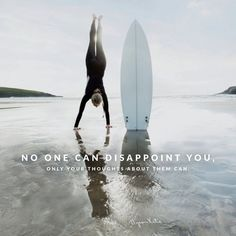 No one can disappoint you, only your thoughts about them can. --The Work of Byron Katie Byron Katie, Attitude, The Notebook, A Course In Miracles, Big Waves, Change, Timeline Photos, Disappointment, Wisdom Quotes