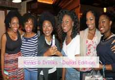 Kinks-drinks-dallas-veepeejay #dallas #naturalhair