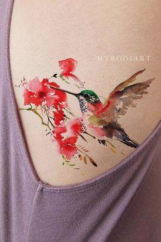 Product Information Product Type: Tattoo Sheet Set Tattoo Sheet Size: Tattoo Application & Removal Instructions fairy dandelion flower tattoo Delicate Tattoo, Subtle Tattoos, Different Tattoos, Trendy Tattoos, Mini Tattoos, Tattoos For Guys, Tattoos For Women, Watercolor Hummingbird, Hummingbird Tattoo