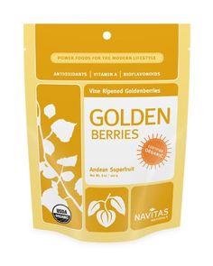 BESTSELLER! Navitas Naturals Goldenberries, 8-Ounce Pouches (Pack of 2) $20.89