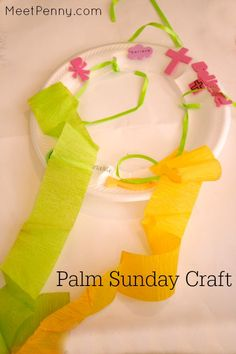 Hallelujah Shaker from 3 Palm Sunday craft ideas