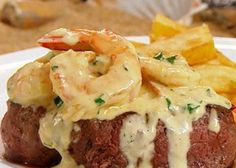 There is nothing more American than to enjoy a plate full fillet steak with garlic shrimp most commonly referred to as a 'surf 'n' turf'. In terms of Italian food, 'surf 'n' turf' could be describe...
