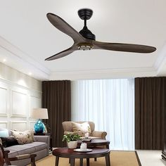 2016 Lamp Fan Modern Nordic Dining Room Ceiling Fan With Remote Control Attic Without Light Home Decoration Ventilador De Teto