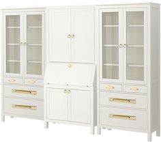replace hardware on IKEA Hemnes cabinets