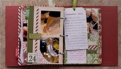 """December Daily 22-25"" by Bec_Scraps, as seen in the Club CK Idea Galleries. #scrapbook #scrapbooking #creatingkeepsakes"