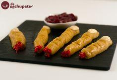 Más #RecetasMonstruosas : ¡Unos horripilantes dedos de bruja! http://www.recetasderechupete.com/dedos-de-bruja-receta-…/…/ #Halloween #SamsungEspaña