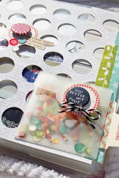 Elf Mini Album with Kristin | The Crafty Pickle