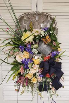 Tobacco Bowls, Grapevine Wreath, Grape Vines, Floral Wreath, Wreaths, Home Decor, Floral Crown, Decoration Home, Door Wreaths
