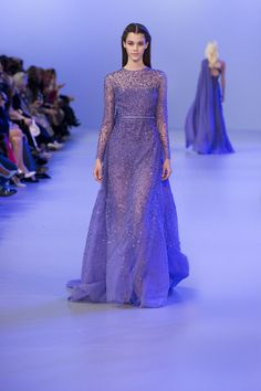 SOMETHING BLUE- ELIE SAAB Haute Couture Spring-Summer 2014