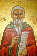 Holy Martyr Konon the Gardener (Mar 5; pic by Stratilatis)