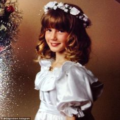 Born To Try: Delta has always had a passion for music since a young age - pictured here a...