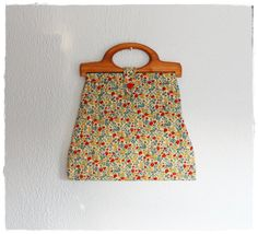 Pretty Vtg 60's Quilted HANDMADE Liberty by closiTherapivinTage, $39.00