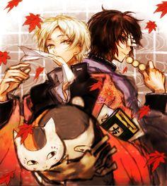 Natsume,Tanuma, and Nyanko-Sensei #backtoback