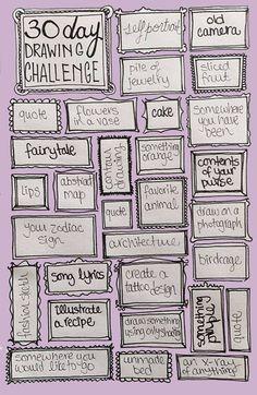 Idée challenge Dessin
