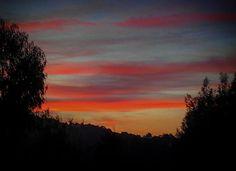 #Solpor de #outono. Soñando a #vivaldi  #sunset