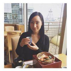 Lunch in Yokohama at the Landmark Tower  #kaiseki #yokohama #kanagawa #japan #lunch #restaurant #finedining #minomichi #kyoto #yokohamalandmarktower #minatomirai #traditionaljapanesefoods #japanesefood #japanese #asia #travel #home #sogood #goodfood #foodporn by mademoisellevasilisa