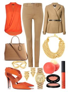 Orange is back by sixfireab on Polyvore featuring polyvore fashion style River Island Burberry Polo Ralph Lauren Narciso Rodriguez Fendi Ben-Amun Auden Tiffany & Co. Michael Kors GAB NARS Cosmetics dELiA*s clothing