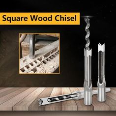 Free worldwide shipping on order over $69. Mortise Chisel, Wood Chisel, Chisel Set, Woodworking Square, Woodworking Projects, Mortising Machine, Wood Drill Bits, Wood File, Drilling Tools