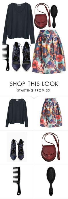 """""""Untitled #4828"""" by prettyorchid22 ❤ liked on Polyvore featuring MANGO and Sephora Collection"""