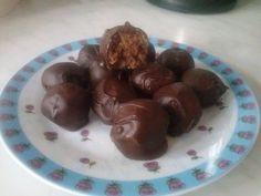 Σοκολατάκια με γεύση καριόκας