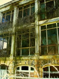 abandonedplaces: Old V.A. Hospital -- Asheville, NC