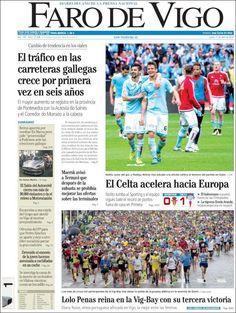 #20160411 #GALICIA #España #Spain #GaliciaPORTADASdePRENSAdeHOY20160411 Lunes 11 ABR 2016 http://en.kiosko.net/es/2016-04-11/geo/Galicia.html + #VIGO #FAROdeVIGO20160411 http://en.kiosko.net/es/2016-04-11/np/farovigo.html