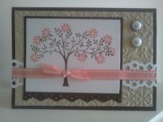 Flowering tree - Stampin' UP! pinned by Colleen Hastings, Independent Stampin' UP! Demonstrator