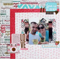 Crush Layout by Samantha Taylor using Crush collection by We R Memory Keepers