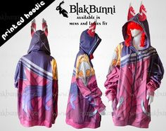 Xayah cosplay hoodie by BlakBunni