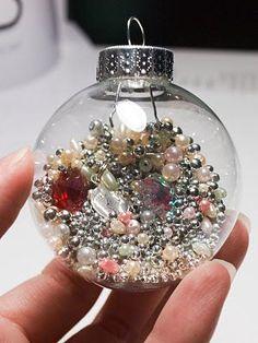 I spy ornament for Christmas gift for kids...