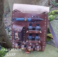 Items similar to Healer satchel for Larp, Cosplay or Costume, the Chirurgeon Companion on Etsy