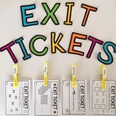 I love using Exit tickets in my classroom as a form of quick assessment or student reflection. I never thought about using Exit tickets as a differentiated maths warmup until today though! Our new pack has all the grade 2 number skills covered. Over 21 number sense exit tickets included. ~ Rainbow Sky Creations ~