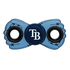 Tampa Bay Rays MLB Diztracto Two Way Team Fidget Diztracto Spinner **PREORDER - SHIPS IN JUNE**