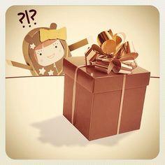 È un regalo per me! Sarà di un mio ammiratore segreto?