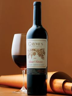 Caymus does wine the right way!