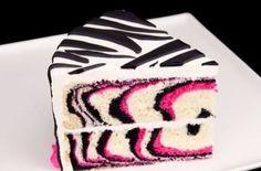 Zebra cake <3