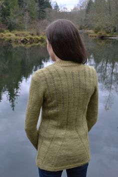 Ravelry: Emanating Sweater pattern by Samantha Kirby #sskal