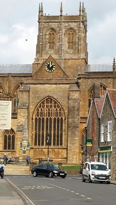 Sherborne Abbey Dorset, England
