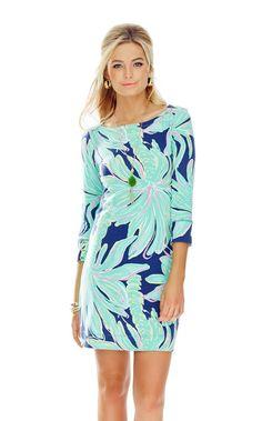 dabbf95561ca80 UPF 50 Sophie Dress - Lilly Pulitzer Bright Navy Tiger Palm Fashion Tips,  Fashion Trends