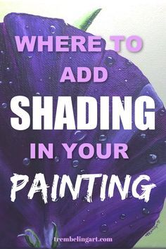 Where to Add Shading in Your Painting Where to Add Shading in Your Painting Gabi Createdbymum createdbymumalp Malen Want to make your artwork look more realistic Highlighting nbsp hellip Acrylic Painting For Beginners, Simple Acrylic Paintings, Acrylic Painting Techniques, Beginner Painting, Acrylic Painting Canvas, Your Paintings, Diy Painting, Realistic Paintings, Art Techniques