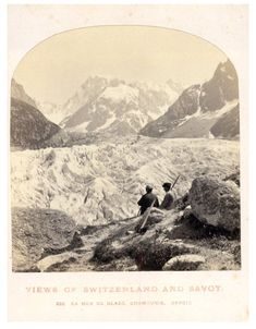 William England, Suisse la mer de Glace Chamounix    #Europe #Suisse_Schweiz