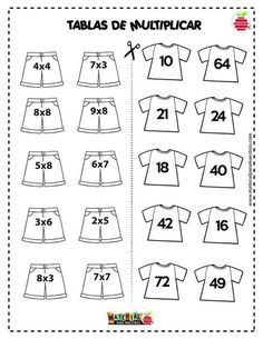 Multiplication Worksheets, Kids Math Worksheets, Phonics Activities, Math Games, Activities For Kids, Alphabet Writing Practice, Math Sheets, Math School, Education Quotes For Teachers